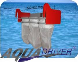 AquaDriver® Kaskadenfilter Sockenfilter Dreifachmodul  - Bild vergrößern